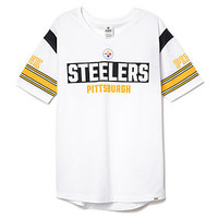 Pittsburgh Steelers V-neck Jersey - PINK - Victoria's Secret