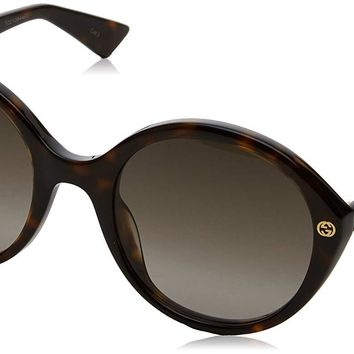 Gucci GG0023S Fashion Sunglasses, 55mm