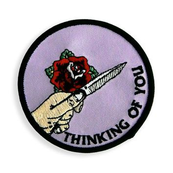 HOME :: Pins & Patches :: PATCHES :: THINKING OF YOU PATCH