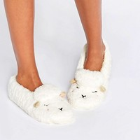 Oysho Sheep Socks at asos.com