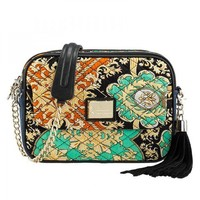 Baroque Print Shoulder Bag from Hallomall