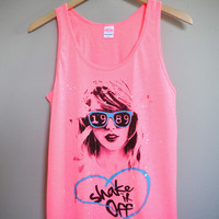 Shake It Off / Taylor Swift 1989 Unisex Tank Top