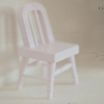 chair, pink, vintage, fine art photography