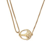 Alex and Ani Unexpected Miracles Pull Chain Necklace - Gold Plated