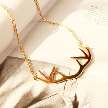 Alison Antler Necklace