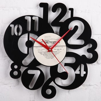 Vinyl Wall Record Clock - Wedding Gift