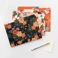 Lively Floral Assorted File Folders