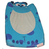 KidsLine  Monsters INC. Velour Infant Boys Changing Pad Cover