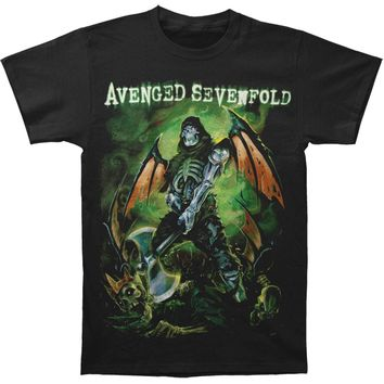 Avenged Sevenfold Men's  AVS Executioner Mens Regular T T-shirt Black