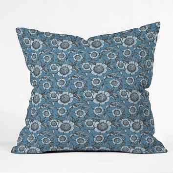 Caroline Okun Camelia Organica Throw Pillow
