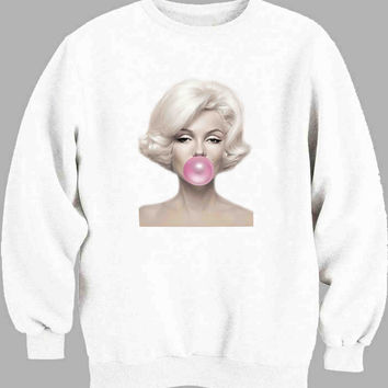 Marilyn Monroe Cute Sweater for Mens Sweater and Womens Sweater *