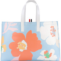 Thom Browne Floral Tote Bag - Farfetch