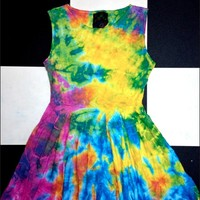 SWEET LORD O'MIGHTY! TIEDYE BABYDOLL DRESS