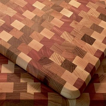 Hardwood End-Grain Cutting Board