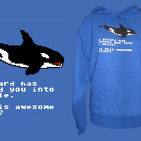 TopatoCo: A Wizard Has Turned You Into a Whale HOODIE *LAST CHANCE*