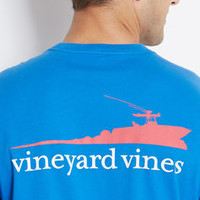 VV Boat Waves Graphic T-Shirt