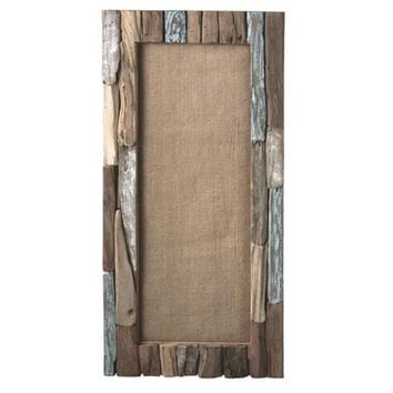 Driftwood Bulletin Board - Hangs On Wall Or Door