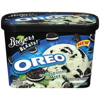 Walmart: Breyers Blasts! Oreo Cookies & Cream Mint Dairy Dessert, 1.5 qt