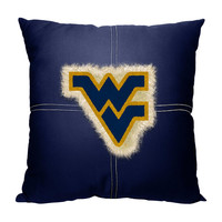 West Virginia Mountaineers NCAA Team Letterman Pillow (18x18)