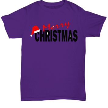 $10 Dollar Shirt Merry Christmas Hat (Unisex only-other styles cost more)