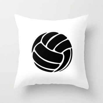 Volleyball Ideology Throw Pillow by ideology