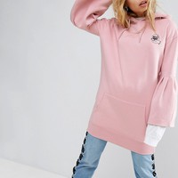 Mad But Magic Oversized Hoodie With Wide Sleeves at asos.com