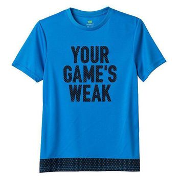 CREY7GX Tek Gear Your Game's Weak Tee - Boys 8-20 Size