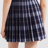Silence + Noise Addy Plaid Mini Skirt | Urban Outfitters