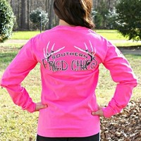 SFC Southern Fried Chics Tee - Neon Pink