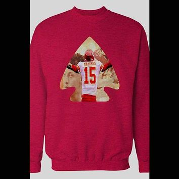 PATRICK MAHOMES CUSTOM INDIAN INSPIRED ART SWEATER