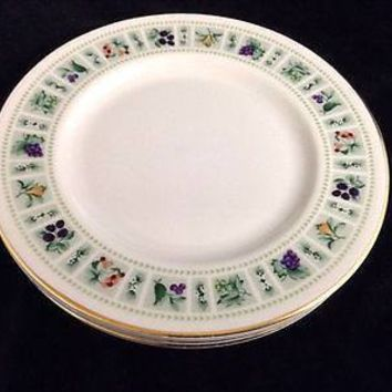 Set of 4 Royal Doulton TAPESTRY Bread & Butter Plates