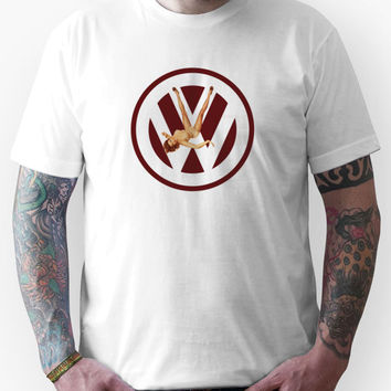 Volkswagen Pin-up (red) Unisex T-Shirt
