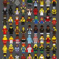 """LEGO Memories Compilation"" Artist Proof Large by Dan Shearn"