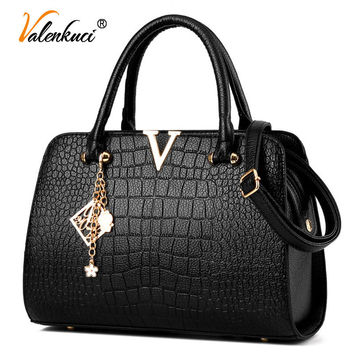 Valenkuci 2017 Women Handbag Leather Bag for Women Messenger Bags Women Leather Handbags Women Bag Ladies Crossbody Bag SD-487