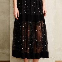 Starswept Maxi Skirt by Twelfth Street by Cynthia Vincent Black