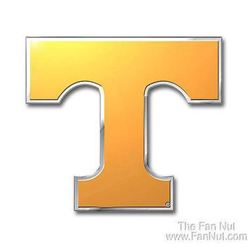 Tennessee Volunteers Vols 3D COLOR Chrome Auto Emblem Home Decal University of