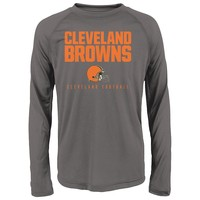 Cleveland Browns Arch Heathered Tee - Boys 4-7, Size:
