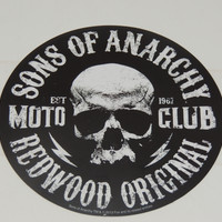 Sticker Sons of Anarchy Redwood