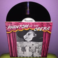 Rare Vinyl Record Phantom of the Opera 1943 Original Soundtrack LP 1981 Claude Rains