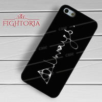 Deathly Hallows always-1ny for iPhone 4/4S/5/5S/5C/6/ 6+,samsung S3/S4/S5,S6 Regular,S6 edge,samsung note 3/4