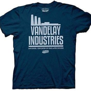 Seinfeld Vandelay Industries TV Funny Cartoon Cotton S-2XL Adult T Shirt