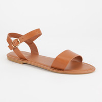BAMBOO Ankle Strap Womens Sandals | Sandals
