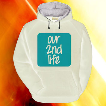 Our 2nd Life hoodie on S,M,L,XL,XXL,3XL heppy feed.