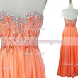 2014 Prom Dress Orange Beads Dresses, Prom Dresses,Evening Dress,Wedding Dresses,homecoming dress,formal dress