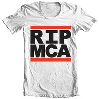 RIP MCA  Hand Screened Tee by AaronBlackDesign on Etsy