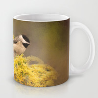 Pot of Gold - Chickadees - Song Birds - Wildlife Mug by Jai Johnson