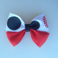 Mickey Mouse Themed-Hair Bow-Accessories-Kid's-Baby-Toddler