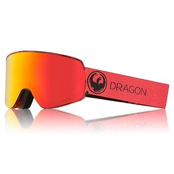Dragon - NFX2 Mill Snow Goggles / Lumalens Red Ion + Lumalens Rose Lenses