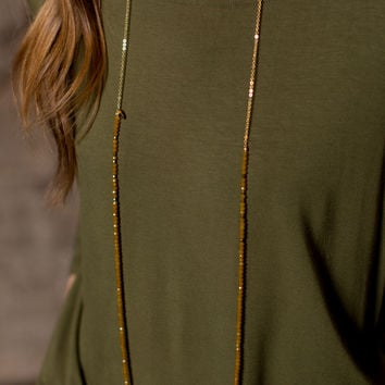 Betsy Pittard Designs Layering Dainty Necklace - Honey