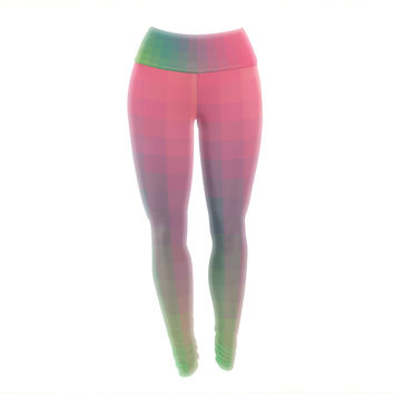 "Danny Ivan ""Gradient Print"" Yoga Leggings"